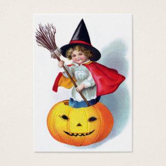 Ellen H. Clapsaddle : Peu de sorcière de Cartes De Visite
