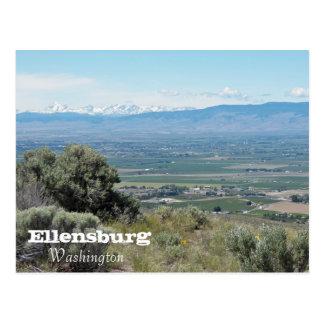 Ellensburg, Washington-Reise Postkarte