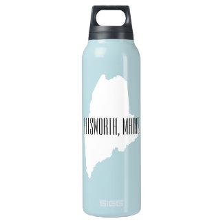 Ellsworth Maine Isolierte Flasche
