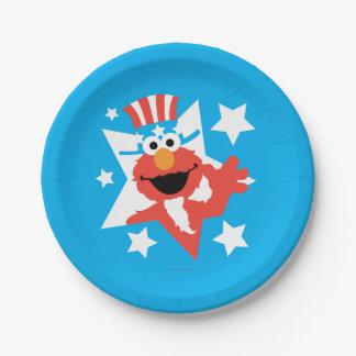 Elmo als Uncle Sam Pappteller