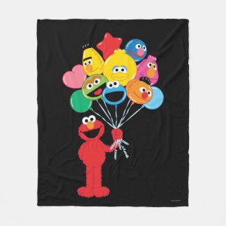 Elmo Ballone Fleecedecke