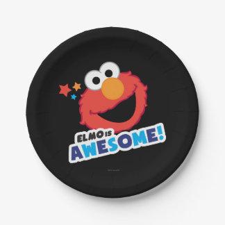Elmo fantastisch pappteller