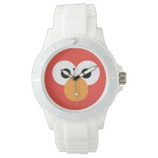 Elmo großes Gesicht Uhr