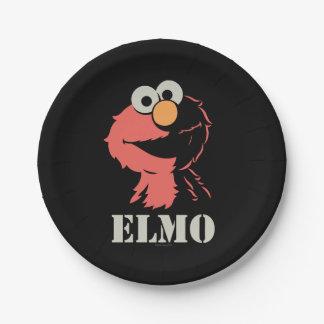 Elmo halb pappteller