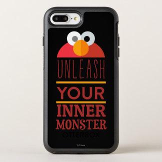 Elmo inneres Monster OtterBox Symmetry iPhone 8 Plus/7 Plus Hülle