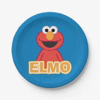 Elmo Klassiker-Art Pappteller