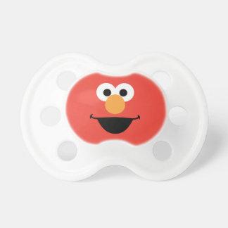 Elmo stellen Kunst gegenüber Schnuller