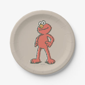 Elmo Vintag Pappteller