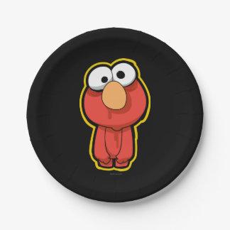 Elmo Zombie Pappteller
