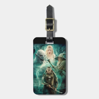 ELROND™, Azog, Galadriel u. Gandalf Grafik Gepäckanhänger