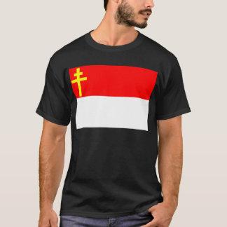 Elsass-Lothringen Flagge T-Shirt