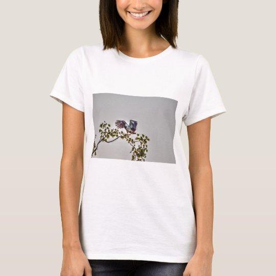 ELSTER-GANS-IM FLUG AUSTRALIEN-KUNST-EFFEKTE T-Shirt