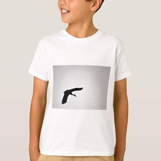 ELSTER-GANS IN DER FLUG-SILHOUETTE AUSTRALIEN T-Shirt