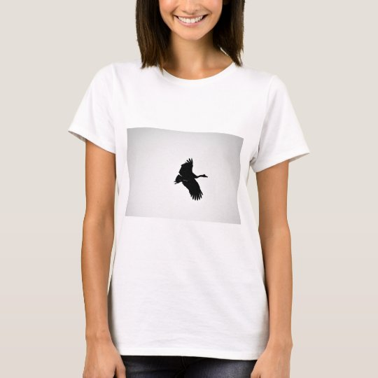 ELSTER-GANS-SILHOUETTE QUEENSLAND AUSTRALIEN T-Shirt