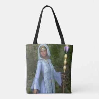 Elven Mädchen ganz über Druck-Taschen-Tasche Tasche