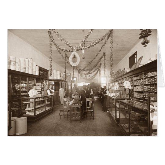 Elwerts Kaufhaus, Sacramento, CA, c.1907 Grußkarte