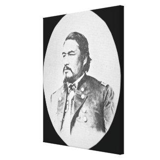 Ely Samuel Parker (1828-95) Seneca Leiter und Fede Galerie Gefaltete Leinwand