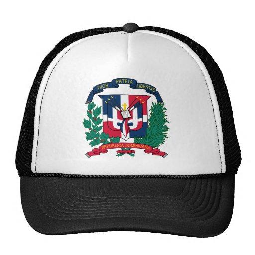 Emblem der Dominikanischen Republik Retrokappe