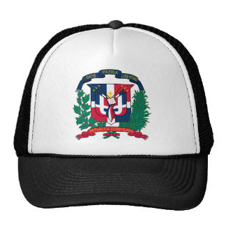 Emblem der Dominikanischen Republik Kult Kappen