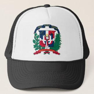 Emblem der Dominikanischen Republik Truckerkappe