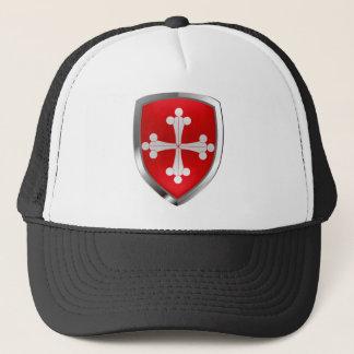 Emblem Pisas Mettalic Truckerkappe