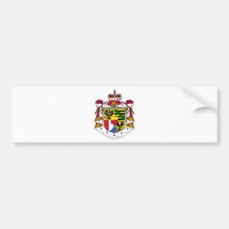 emblème de la Liechtenstein Autocollant Pour Voiture