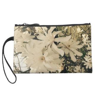 Embrayage de fleur pochette avec anse