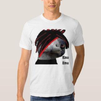Émeu d'Emo Tee Shirts