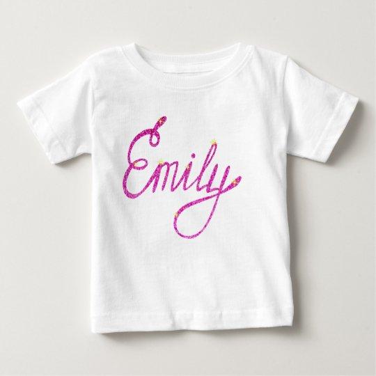Emily-Name Baby T-shirt