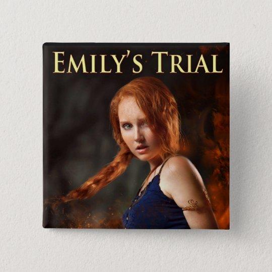 Emilys ProbeButton Quadratischer Button 5,1 Cm