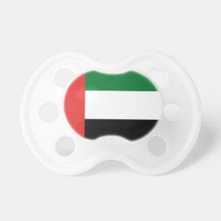 Emiradosarabes Flagge Schnuller