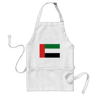 Emiradosarabes Flagge Schürze