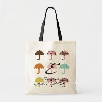 Emmas Reise-Regenschirm-Aussagen-Tasche Tragetasche