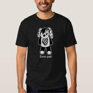 Emo-animal familier tee shirt