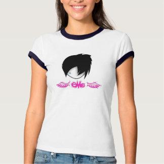 Emo avec la pièce en t d'ailes t-shirt