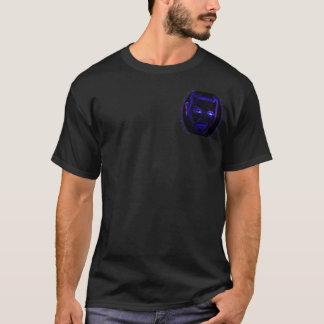 Emo blauer NeonT - Shirt
