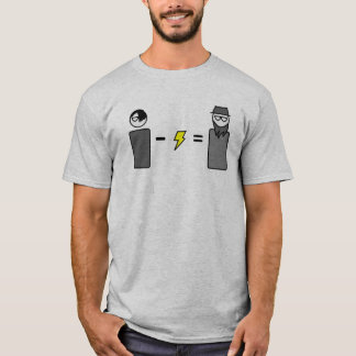 Emo-electric=Amish T-shirt