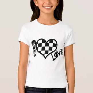 Emo et coeur tee-shirt