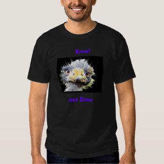 Emo ! , pas émeu tee-shirts