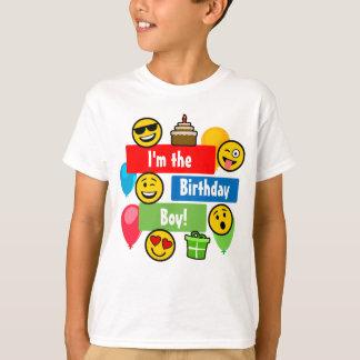 Emoji Geburtstags-Junge T-Shirt