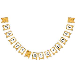 Emoji glückliche alberne gelbe Gesichter Wimpelketten