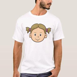 Emoji: Mädchen T-Shirt