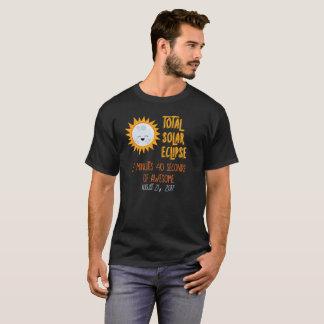 Emoji Mond-Gesamtsolareklipse-fantastisches Shirt