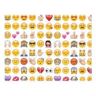 emoji postkarte