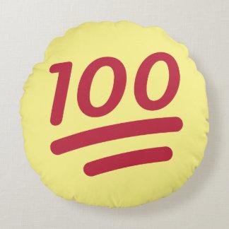Emoji rundes Wurfs-Kissen 100% Rundes Kissen