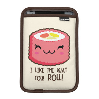 Emoji Sushi-Rolle Sleeve Für iPad Mini