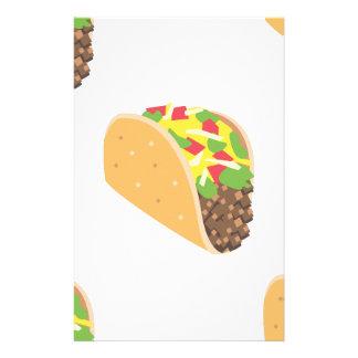 emoji Taco Briefpapier