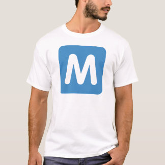 Emoji Twitter - Letter M T-shirt