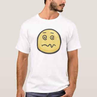 Emoji : Visage étourdi T-shirt