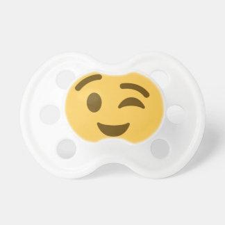 Emoji Wink Schnuller